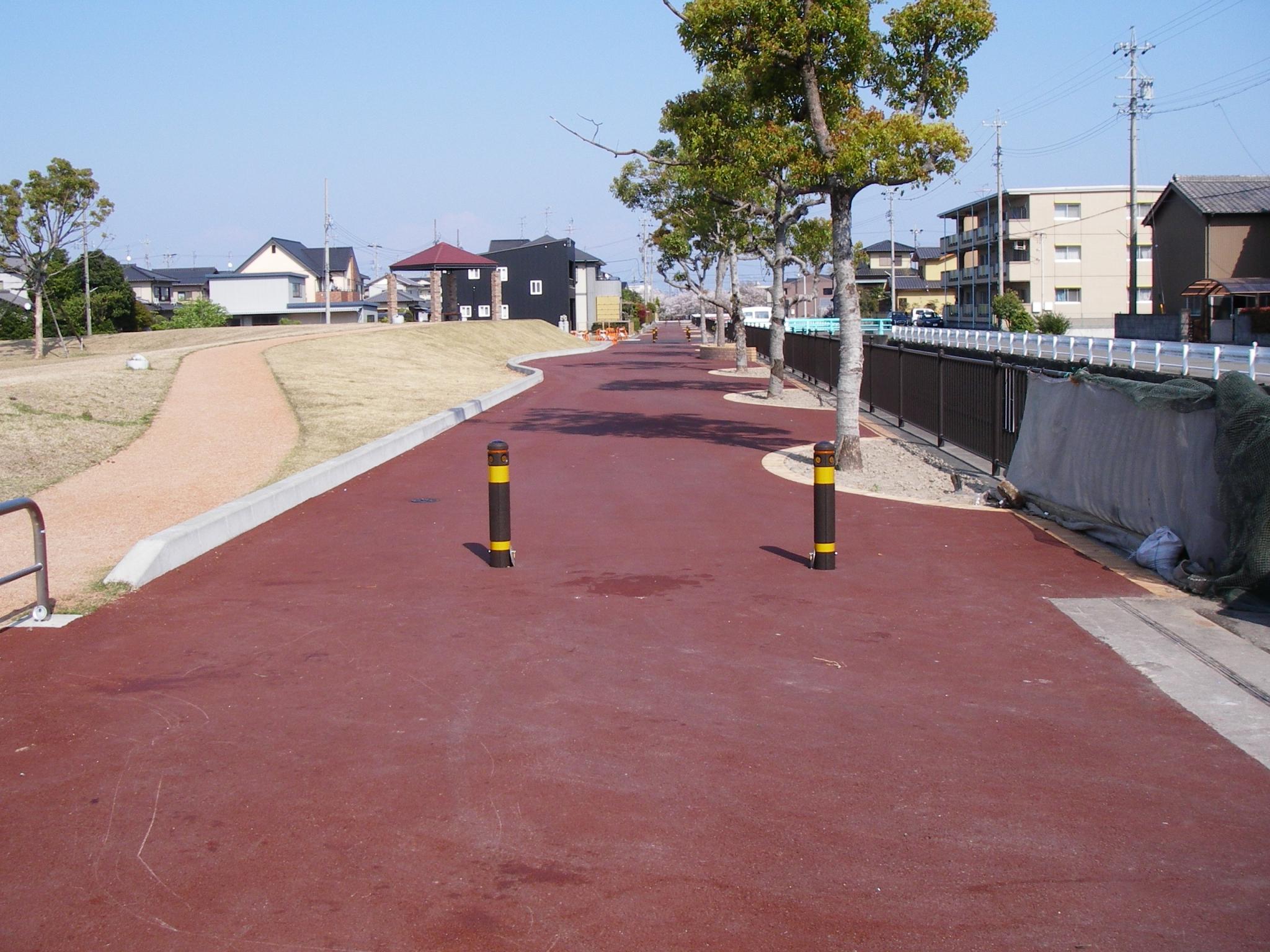 H18年度本田島立通り線舗装工事